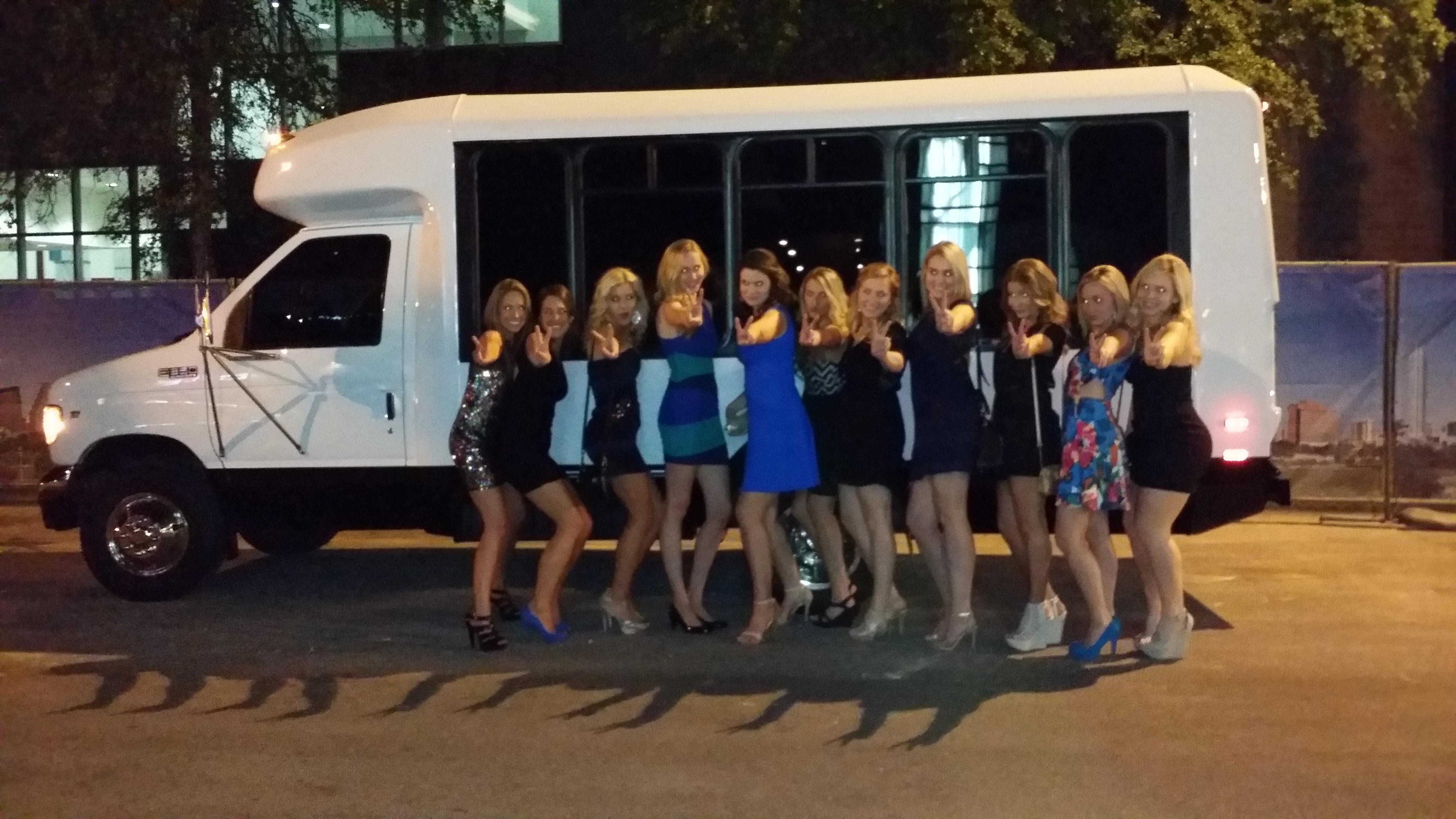 Sorority Sister Rent the Austin Party Bus Shuttle
