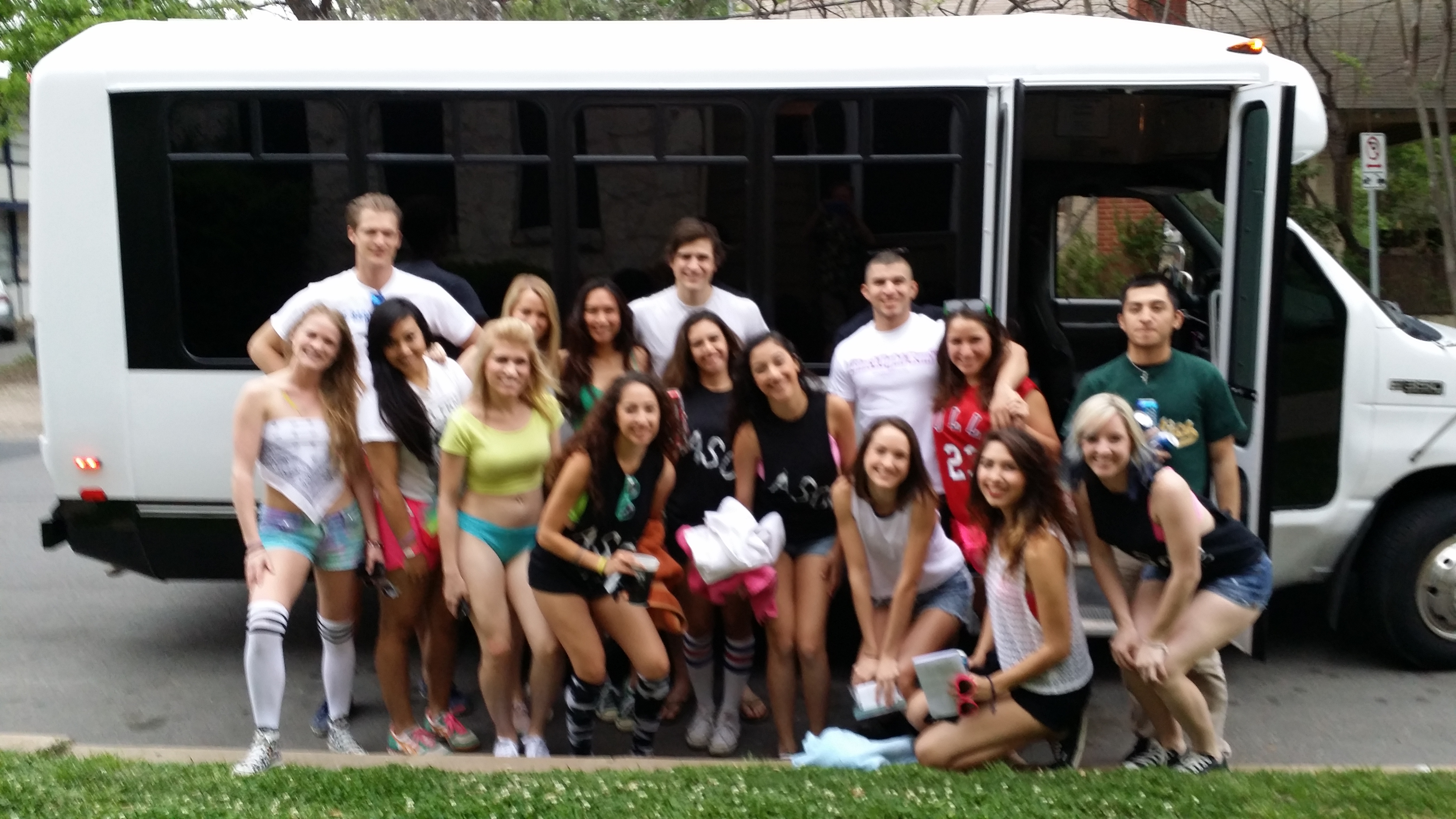 Austin Party Shuttle to the rescue.