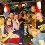 Jenny's B-Day Party Aboard Austin Party Shuttle