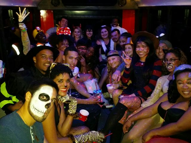 Austin Party Shuttle Halloween Birthday Party